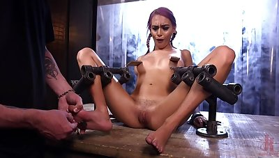 FLOOD: Dutiful Women Bound in Metal and Made to Squirt