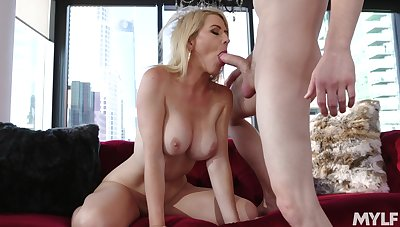 Gagged blonde ends with her pussy demolished with the addition of sperm on her permanent nipples