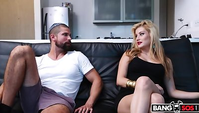 Teen Colombian Blonde is a Hot Light of one's life