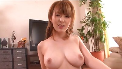 Busty hottie Hatano Yui gets talked into sucking a friend's weasel words