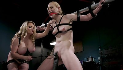 BDSM femdom special with Delirious Hunter and Aiden Starr