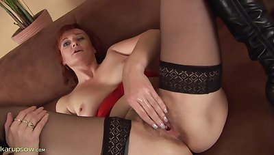 Granny Helga Still Craves A Big Hard Dick - HD video
