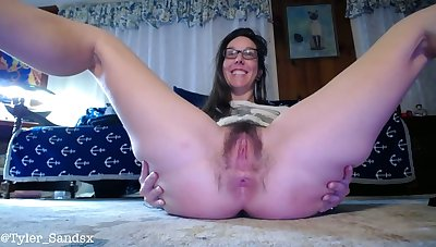 My piercing hairy pussy