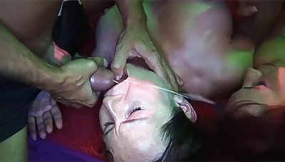 wild german swinger club groupsex ribbon