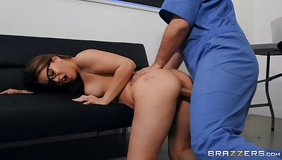 Full hardcore for the young babe after she throats the dick