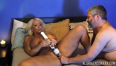 Pantyhose fetish sex scene with MILF Alura Jenson