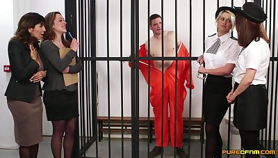 Amateur video be advisable for cock hungry sluts hulking blowjobs to an inmate