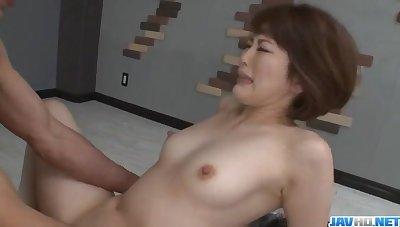 Sweet threesome porn session with nasty Tomoka Sakurai