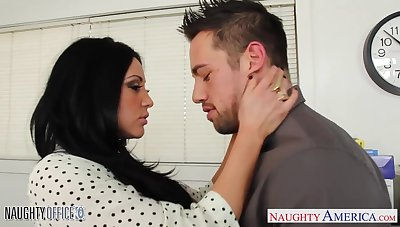 Awesome and steamy sex of Audrey Bitoni and Johnny Castle is arousing